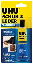 UHU 46680 Schuh & Leder Spezialkleber Kleber Tube mit  30 Gramm