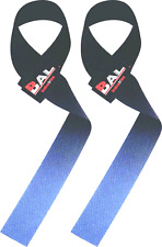 One Pair Weight Lifting Straps,Bodybuilding,Gym Wrist Bar Support Black