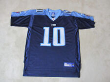 89f5a0cd3816 Reebok Vince Young Tennessee Titans Football Jersey Adult Extra Large Blue  Mens
