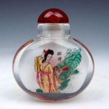 Peking Glass Inside *Palace Ladies* Reverse Hand Painted Snuff Bottle #01021802