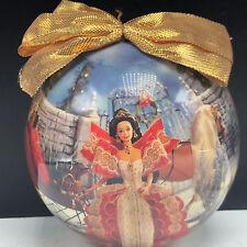 Barbie Christmas Ornament Matrix Mattel ball vintage 1997 holiday sled horse red