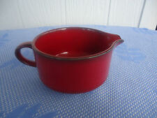 vintage retro waechtersbach germany red black milk jug