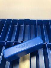 "36  2"" x 8"" x 3"" Blue Plastic Boxes fit Lista Vidmar Toolbox Organizers Dividers"