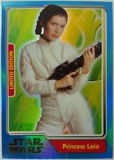 JOURNEY to Star Wars FORCE AWAKENS Limited Edition  UK Card PRINCESS LEIA  MB