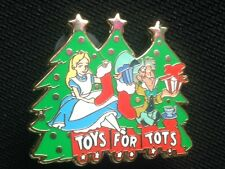Disney DSF - Alice and the Mad Hatter - Toys for Tots - 2011 Pin LE 250