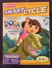 New Factory Sealed Dora the Explorer with Diego & Dinosaurs Smart Cycle Game