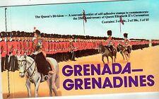 Grenada - Grenadines Souvenir Booklet. Queen Elizabeth ll  MNH. OG. #02 GGQE2