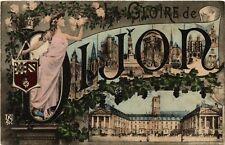 CPA  Dijon - Scenes - La Gloire de Dijon  (633655)