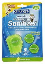 Dr. Tung's, Snap-On Toothbrush Sanitizer, Fresh Mint Aroma, 1 Sanitizer, 2 Refil