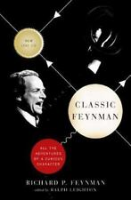 Classic Feynman: All the Adventures of a Curious Character, Very Good Books