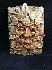 Winking Ivy Greenman Plaque by Summerisle, Green man,wiccan,pagan,