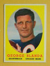 1958 TOPPS, GEORGE BLANDA #129