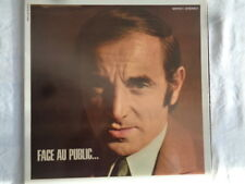 Charles Aznavour : Face Au Public-  Live At The Olympia in Concert  Klapp-Cover