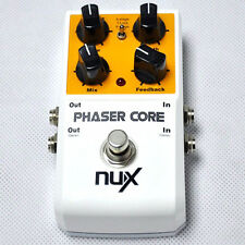 Core Phaser Guitar Pedal Stereo NUX Tone Lock Preset Function True Bypass