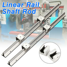 1 Set SBR12 600mm 12MM CNC Linear Rail Shaft Slide Rod + 2 SBR12UU Bearing Block
