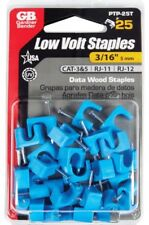 #64- Gardner Bender 3/16 in. W Plastic Insulated Cable Staple 25