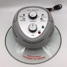 Big Boss 16 Quart Oil-Less Fryer Replacement Power Unit Glass Lid Gray #8605