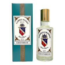 Caswell Massey GREENBRIAR After Shave Aftershave 3 oz 88ml New in Box