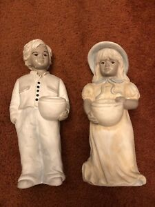 Alice Börngen Keramik Figuren, Paar, 36cm. Schön Zu Hochzeit oder Jahrestag.