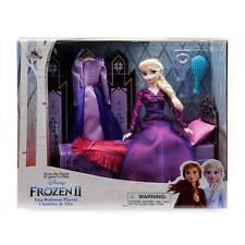 Disney Elsa Classic Doll Bedroom Play Set Frozen 2 New With Box