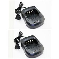2X Original WOUXUN Battery Charger DC 8.4V 100-240V KG-UV8D Walkie Talkie Radios