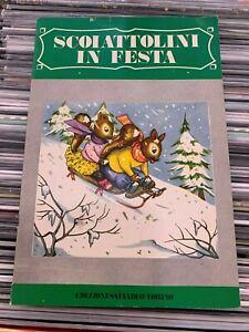 scoiattolini in festa - edizioni salvadeo torino - collana bucaneve