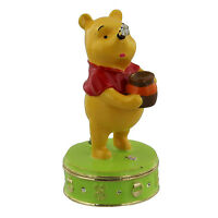 Disney Winnie The Pooh Trinket Box - Pooh Standing  in gift box