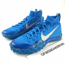 Nike Alpha Sensory Turf Football Shoes Men's Size 10.5 Photo Blue 854312-404 New