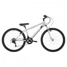 """Freespirit Domain Plus Mens Hardtail Mountain Hybrid Bike 26"""" Wheel 18 Speed GRY"""