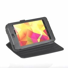 Google Nexus 7 Tablet 360 Degree Rotating High Quality Black Case With Starp
