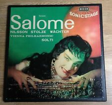 UK-french box 2 LPs Salome Nilsson Stolze Wachter Solti Stereo 1962 EXC *