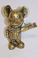 Mickey Mouse Brass Figurine - Unique - MUST HAVE for MM/Disney collectors..LOOK!