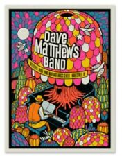 Dave Matthews Band POSTER 6/28 N1 NOBLESVILLE 2019 Methane  #ed MINT DEER CREEK