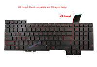 Original New for ASUS G751J G751JL G751JM G751JT G751JY Laptop US Keyboard
