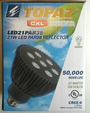 NEW Indoor LED 21W 25° Spot Light CREE Par38 50,000 Hours Commercial Grade
