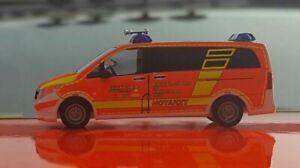 Busch 51100 Mercedes Vito Notarzt Feuerwehr Wuppertal, EXKLUSIV bei MATSCHKE