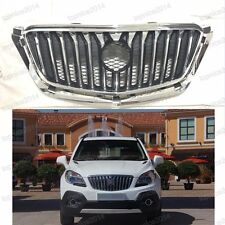 1Pcs Front Hood Grill Grille Chrome For Buick Encore 2013-2015