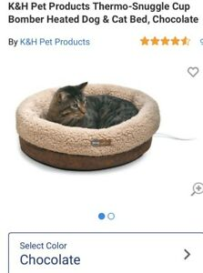 Very Comfy Electric/Thermo/Indoor Kitty & Dogy Bed