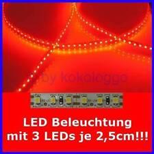 S503 LED iluminación a medida de 5cm hasta 500cm rojo por cada 3 SMD LED en 2,5cm