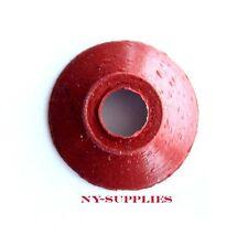 1 Dozen Red Rubber Sucker for Heidelberg GTO, MO or Windmill Printing Presses