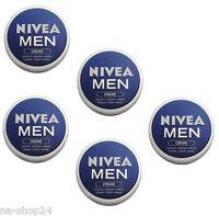 (33,32€/L) 5x 150ml Nivea Creme for Men für Gesicht, Körper, Hände skin for Men