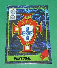 N°49 BADGE ECUSSON WAPPEN PORTUGAL PANINI FOOTBALL UEFA EURO 2000