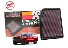 33-5083 K&N Replacement Air Filter 2019+ Chevy Silverado GMC Sierra 5.3 6.2 V8