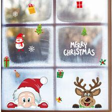 1PC Snowflake Window Stickers Christmas Stickers DIY Santa Claus Decor Home Elk