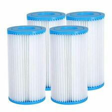 New listing 🌊Summer Waves Universal Pool Filter Cartridge Replacement Type A or C 4-Pack 🌊