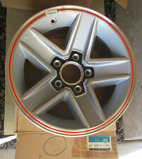 NOS 1982 Z28 Camaro Indianapolis 500 correct red striped aluminum wheel 82 INDY