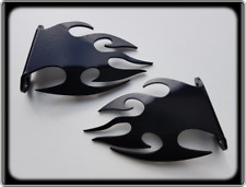 Heel Plates for DUCATI 999 - All Years - Black Footpeg Boot Guards