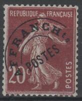 "FRANCE STAMP TIMBRE PREOBLITERE 54 "" SEMEUSE 20c LILAS-BRUN "" NEUF xx TTB N223"