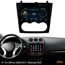 9'' Android 10.1 Car Stereo Radio GPS Navigation For Nissan Teana Altima 2008-12