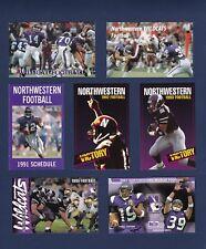 Northwestern Wildcats football schedule collection 21-different